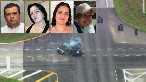 Video: Tiroteo, persecución y 4 muertes