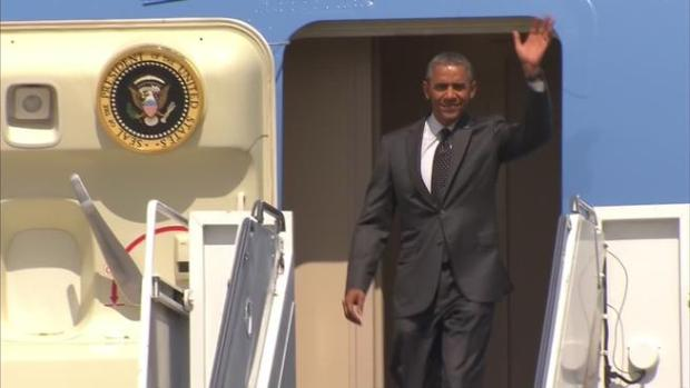 Video: Crisis Humanitaria: Obama llega a Texas