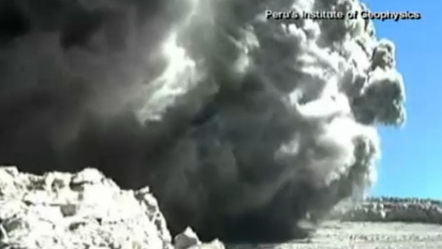 Video: Erupción volcánica grabada en video