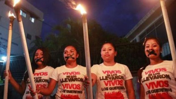 Video: Iguala: Estudiantes vuelven a protestar