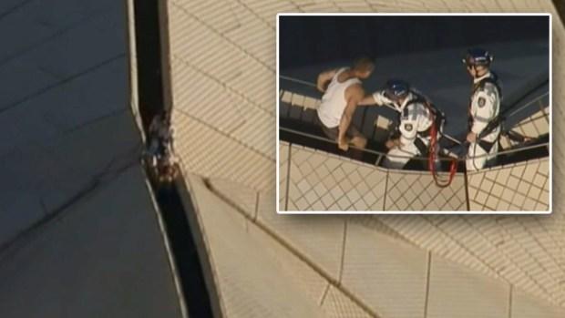 Video: Tremendo rescate en la Ópera de Sídney