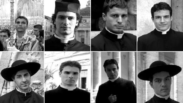 Video: Sacerdotes despiertan pasiones