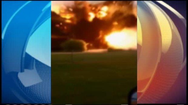 Video: Dramático video familiar de explosión