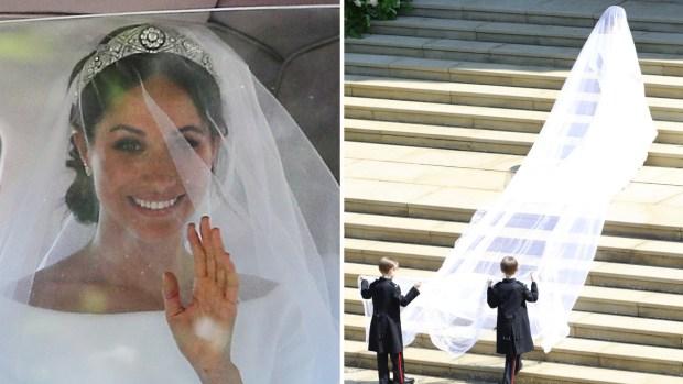 Simple y elegante: el vestido de novia de Meghan Markle
