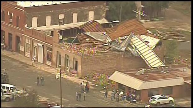 Fuertes tormentas causan desastre al sur de Texas