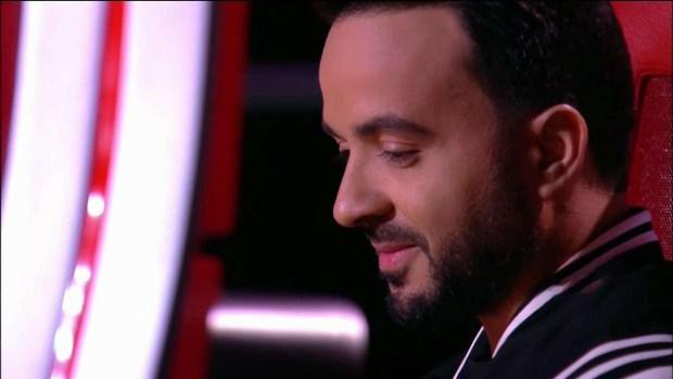 """Luis Fonsi con la voz quebrada se despide de una de sus """"divas"""" en La Voz"""