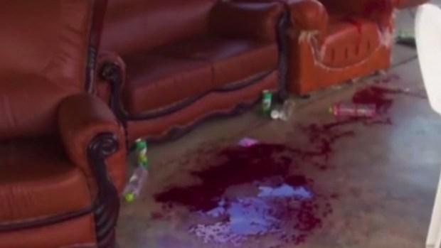 Dron asesino siembra de sangre un desfile