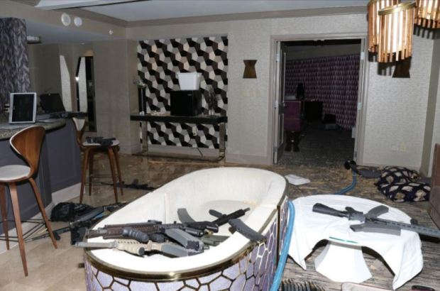 Fotos: lo que dejó el tirador tras la masacre en Las Vegas