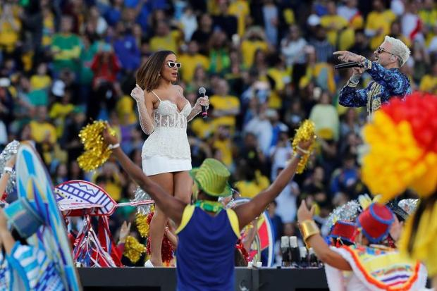 [TLMD National - LV] La sensual Anitta junto a Pedro Capó clausuran la Copa América