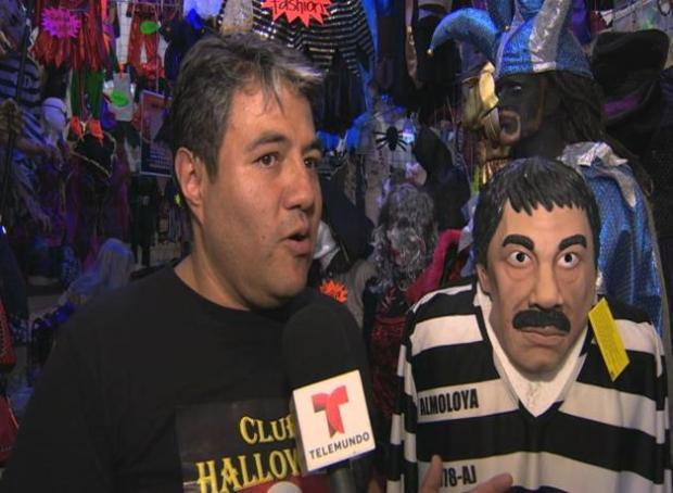 Disfraz de El Chapo revoluciona México
