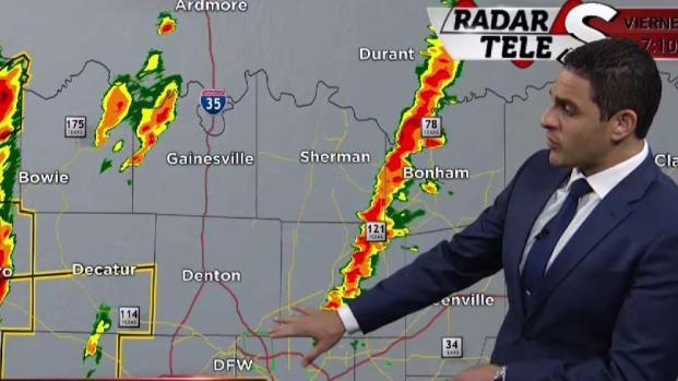 El tiempo: Vigilancia de tornado en el norte de Texas