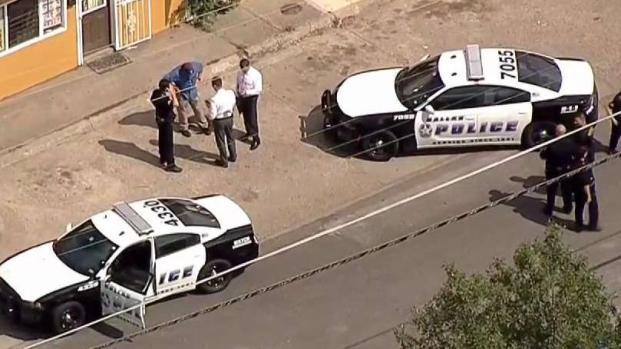 [TLMD - Dallas] Investigan tiroteo que dejó a dos personas heridas