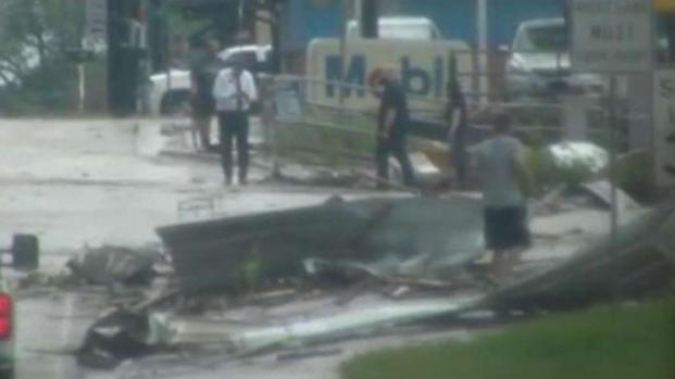 Tornado en condado Van Zandt: Video muestra los daños