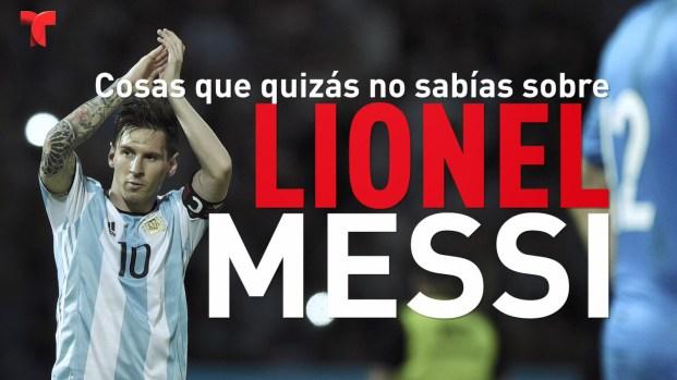 [TLMD - MIA] Cosas que quizás no sabías sobre Lionel Messi