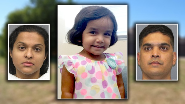 Caso Sherin Mathews: padres renuncian a derechos sobre su hija