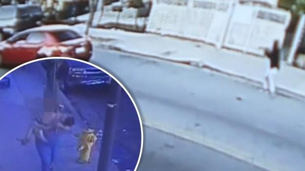 [TLMD - LA] Imágenes muestran a niño herido tras balacera