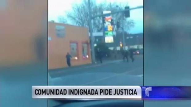 Video: Miles piden justicia por muerte de mexicano
