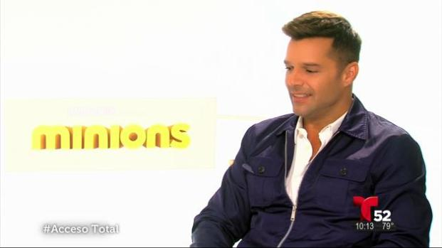 "Ricky Martin en ""Minions"""