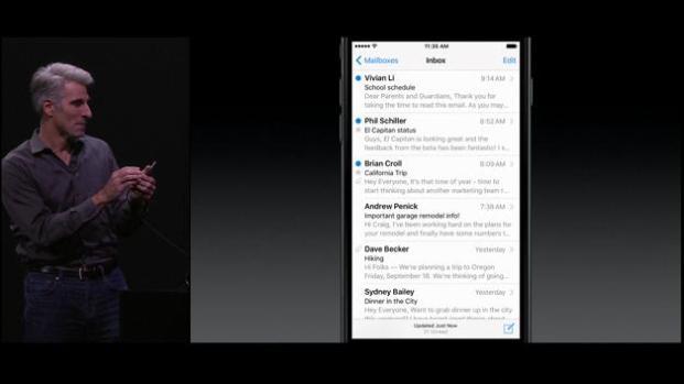Apple presenta sus nuevos dispositivos móviles