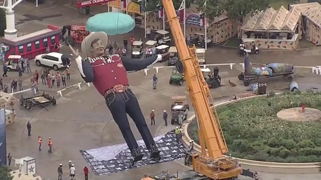 Regresa Big Tex a la Feria Estatal de Texas en Dallas