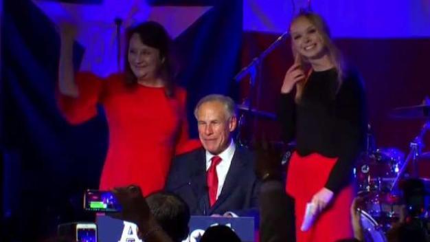 Gobernador de Texas se reeligió