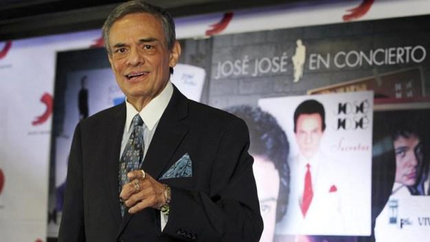 """José José reacciona a versiones de que está """"secuestrado"""""""