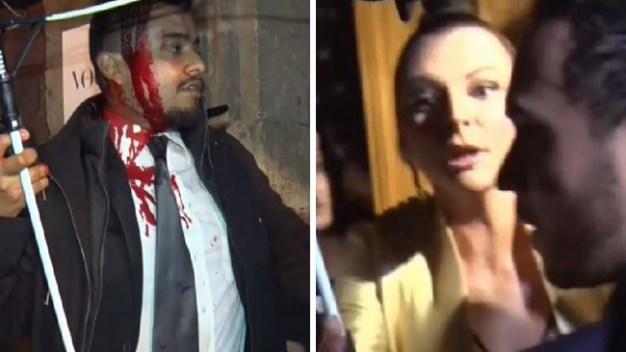 Corre la sangre en enfrentamiento por Marjorie de Sousa
