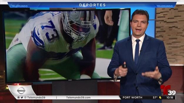 Joe Looney centro ofensivo de los Cowboys