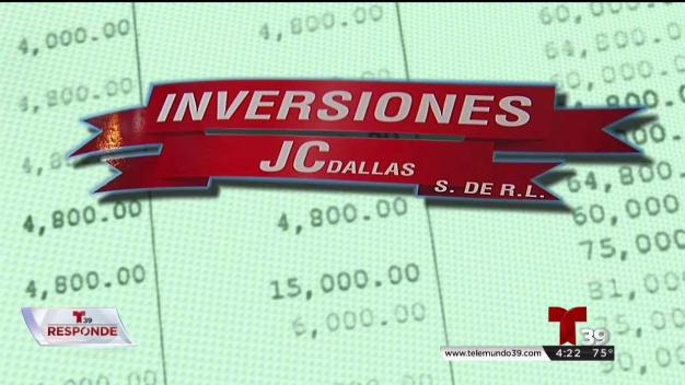 Telemundo Responde: Inversiones JC Dallas