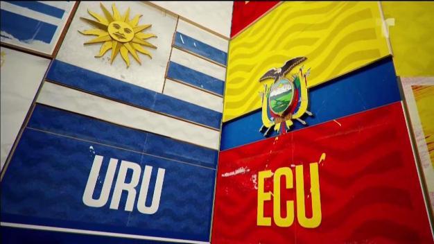 Resumen de partido: Uruguay golea a Ecuador en la Copa América