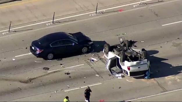 Tres muertos en accidente sobre autopista 75 en Plano