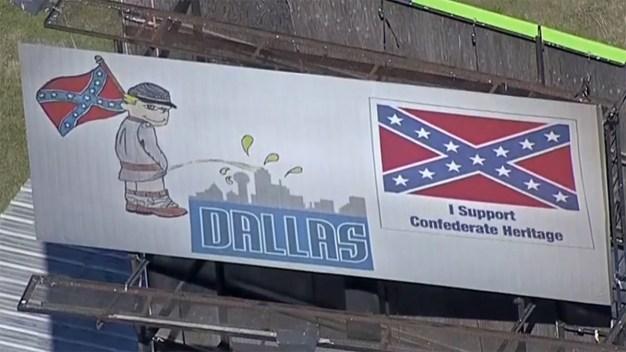 """Polémica por anuncio en el que """"orinan"""" sobre Dallas"""