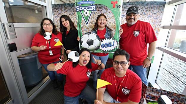 Fiesta Telemundo 39 por sorteo de la Copa Mundial Rusia 2018