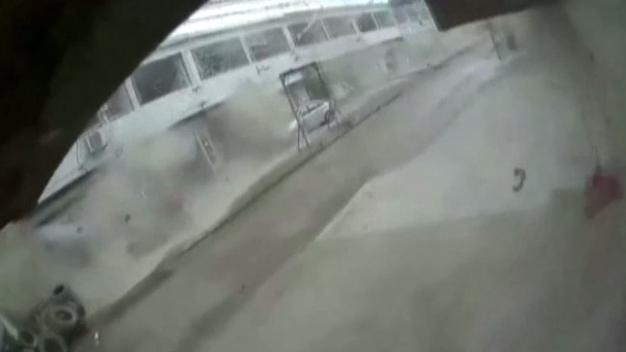 En video: captan la explosión de una planta química