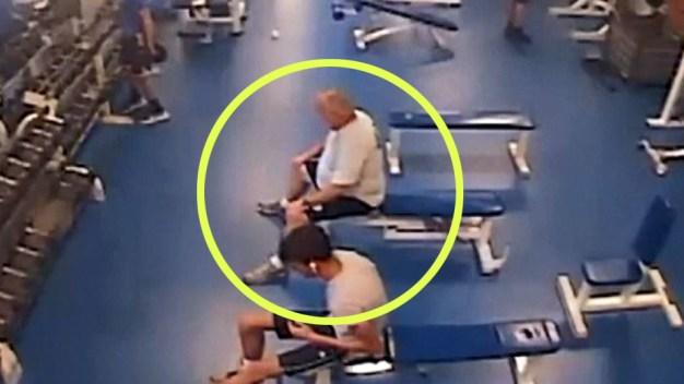 En video: se infarta mientras ejercitaba en el gimnasio