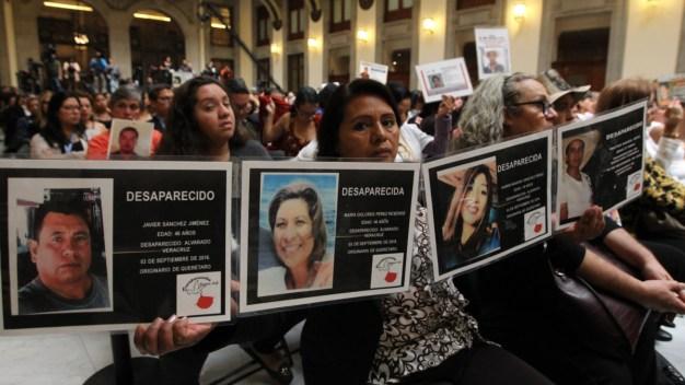 El drama de los 40,000 desaparecidos en México
