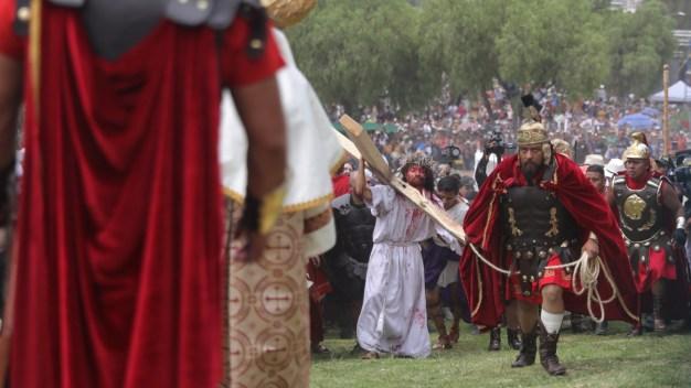 Semana Santa: Iztapalapa cumple Pasión milenaria