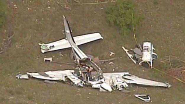 Identifican a los seis fallecidos en avionazo en Texas