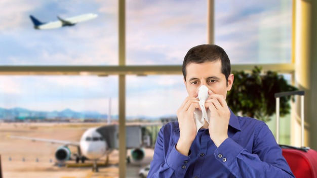 Posible aumento de casos de influenza por flujo de viajeros