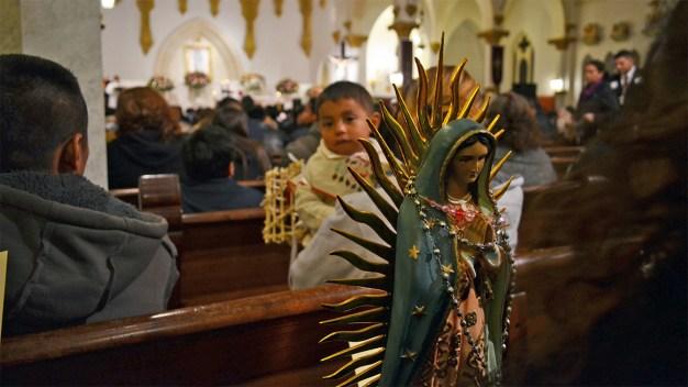 Fervor por la Virgen de Guadalupe en el norte de Texas