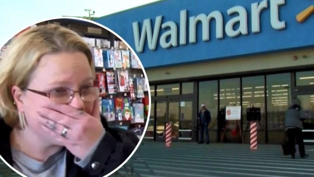 "Regalos gratis en Walmart: misterioso ""Santa"" paga por todo}"