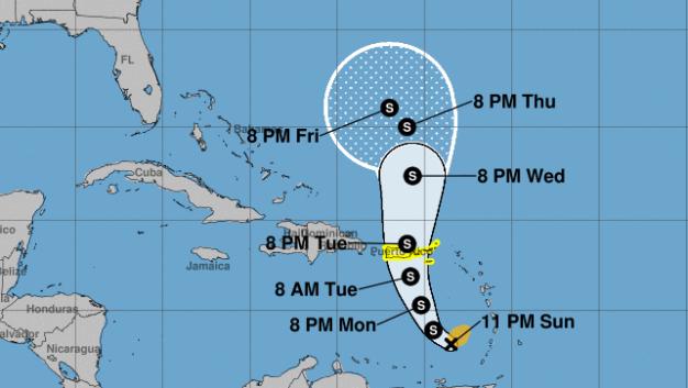 Tormenta Karen pudiera pasar cerca o sobre Puerto Rico