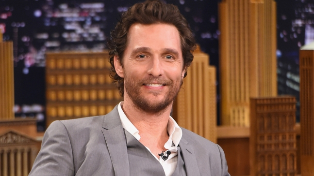 Matthew McConaughey enseñará cine en Texas