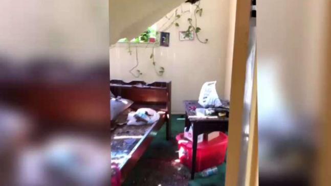 Lluvia en el Metroplex causa problemas en apartamentos