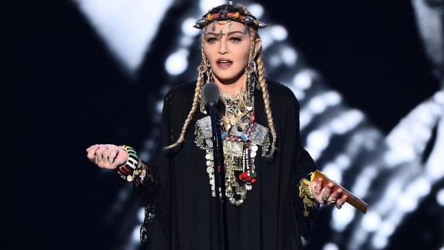 Critican el homenaje de Madonna a Aretha Franklin