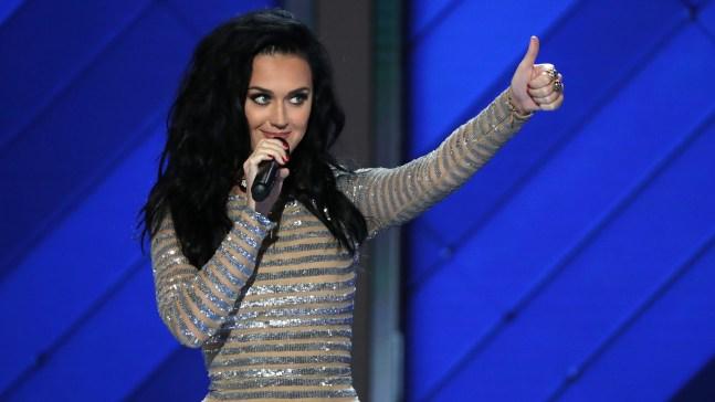 Katy Perry se desnuda para motivar a votar
