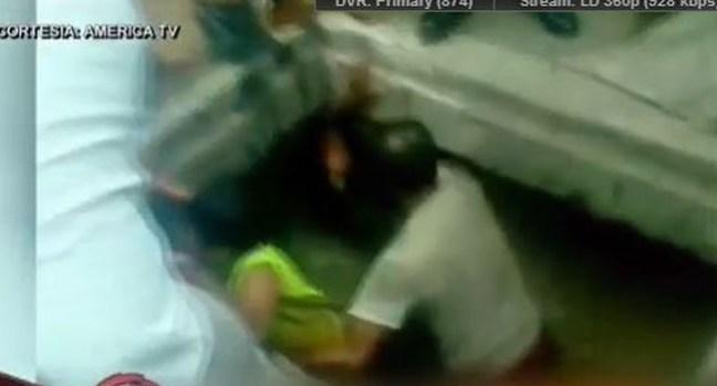 Video: Dramático rescate de un niño