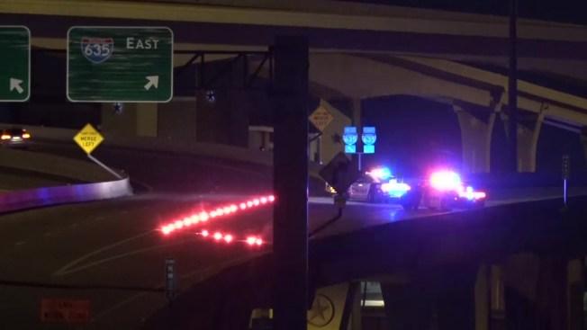 Hombre muere tras caer de un puente en la I-635 en Dallas
