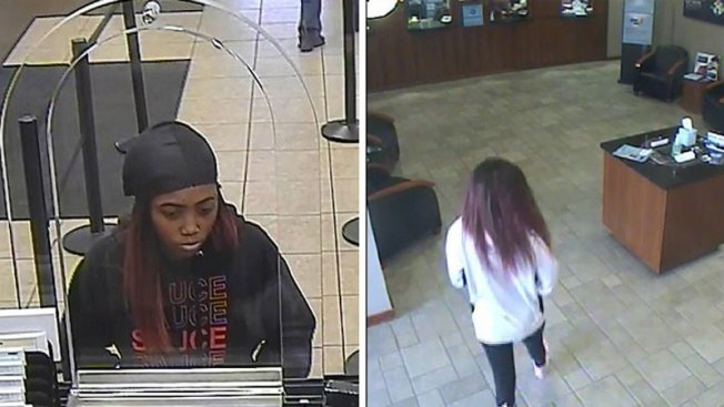 Policía de Arlington busca a presunta asaltante de bancos