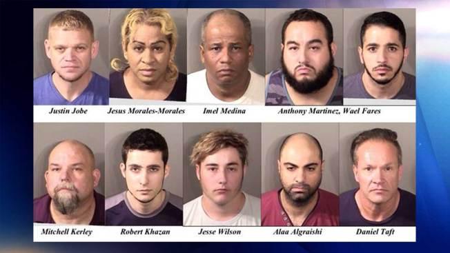 Denton: Detenidos por presuntamente solicitar sexo con menores